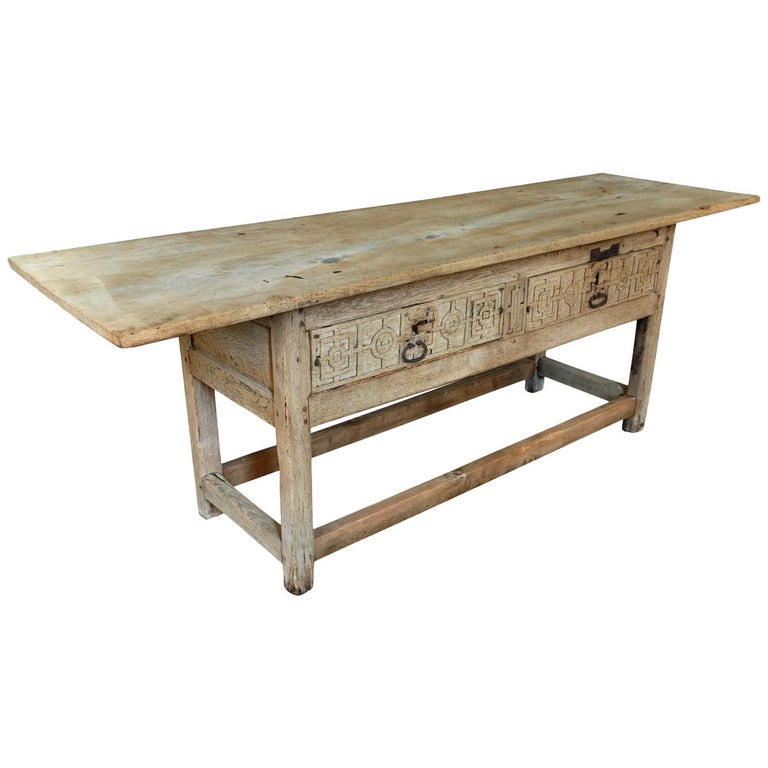 18th Century Catalan Console Table