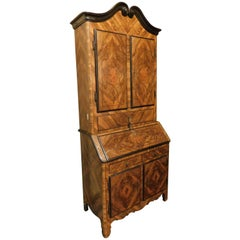18th Century Antique Trussed and Inlaid Troumeaux