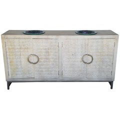 Superb Contemporary Vanity with Two Sink with Moroccan Style