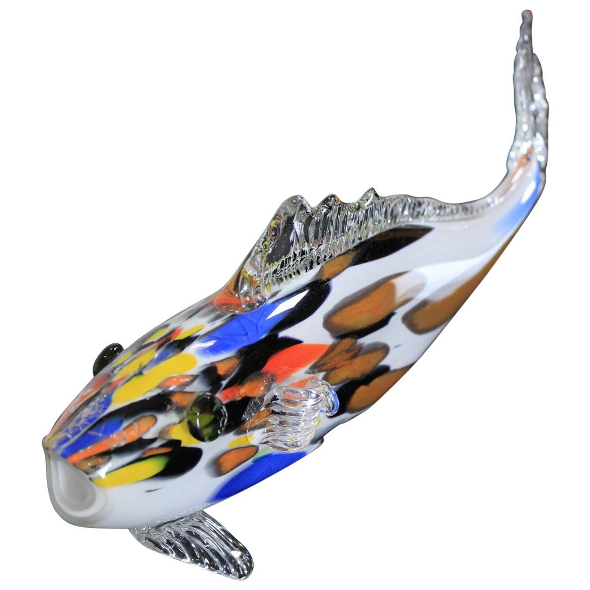 Vintage Glass Fish, 1970s