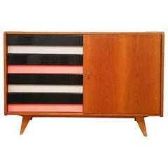 Striped Sideboard by Jiri Jiroutek for Interier Praha, 1960s