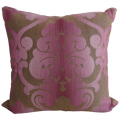 Pair of New Brocade Custom Pillows