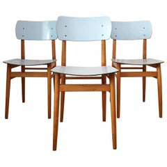 Czech Chairs from Ton, 1960s, Set of 3