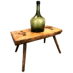 19th Century French Bottle-Corking Workbench