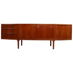 Mid-Century Modern Teak Sideboard Credenza by Tom Robertson for A.H. McIntosh