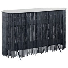 Keefer Credenza Black Long