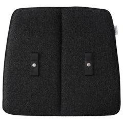 Indoor Dark Grey Cushion, For Studio WM String Dining Chairs