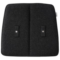 Indoor Dark Grey Cushion, For Studio WM String Lounge Chairs