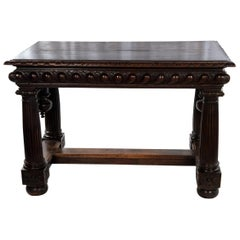 Baroque French Walnut Center Table, circa 1680