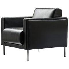 Kron Foro Black Armchair