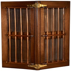 19th Century Ship's Hatch Cabinet