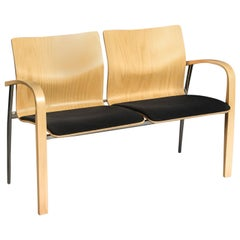 Two-Seat Bench by Brunner Zweisitzer