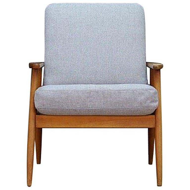 Außergewöhnlich Dänisches Design Sessel Teakholz 1960-1970 Retro im Angebot bei &HV_62