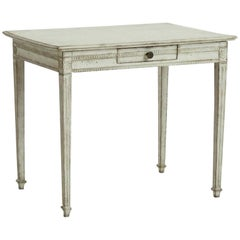 Freestanding Gustavian Console Table, with One Drawer, 1790