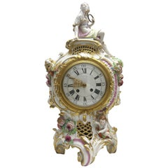 Old and Rare KPM Berlin Porcelain Magnificent Clock