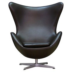 Arne Jacobsen Armchair the Egg Danish Design