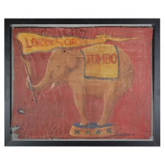 Jumbo London Zoo Sideshow Banner