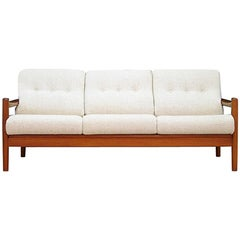 Sofa Teak Vintage 1960-1970 Danish Design