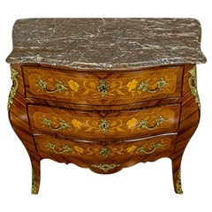 Rococo Intarsiated Dresser from the Early 20th Century