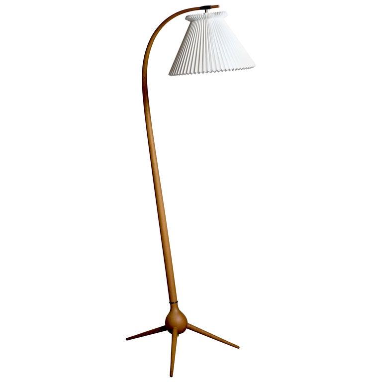 Beautiful 'Bridge' Floor Lamp by Severin Hansen, Danish Design, 1960s