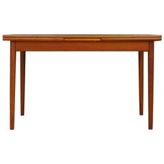 Scandinavian Design Dining Table Retro Teak