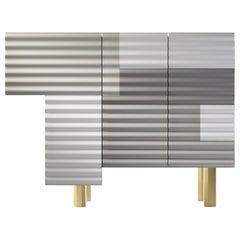 "Shanty Single Cabinet Model B ""Winter"" by Doshi Levien"