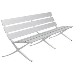 Konstantin Grcic Contemporary Aluminium Bench 'B' for BD Barcelona