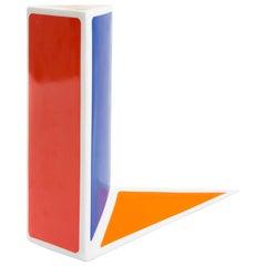 """Mendini """"A Punta"""" for Il Coccio, Vase Memphis Design Edition"""