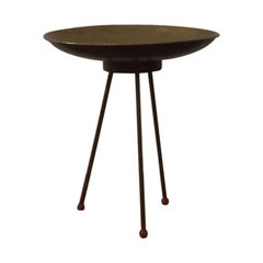 Brass Side Table/Bowl