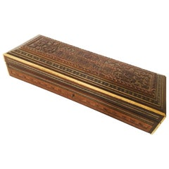 Fine Antique Anglo Indian Mother of Pearl Inlay Box