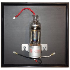 Vacuum Tube Wall Sculpture circa 1950, Rare, Bill Reiter Artist