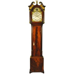 Scottish Mahogany Longcase Grandfather Clock, Dalgliesh Edinburgh