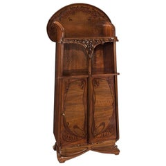 Majorelle French Art Nouveau Étagère or Cabinet