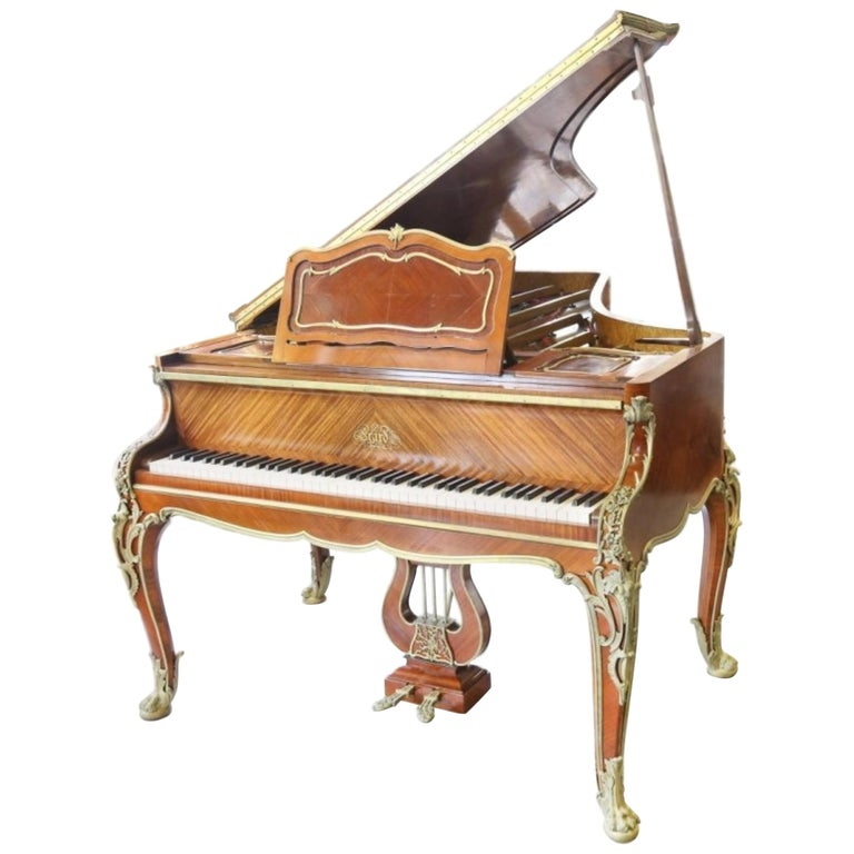 Very Fine Louis XV Style Piano by Francois Linke, Signed., Stamped by Zwiener For Sale