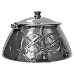 Archibald Knox for Liberty & Co Pewter Inkwell, circa 1903