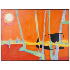 Modernist Painting on Canvas