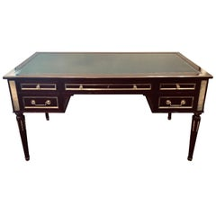 Jansen Style Fully Refinished Louis XVI Fashioned Bronze-Mounted Desk