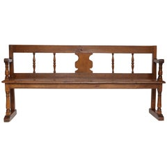 Antique French Hall Bench