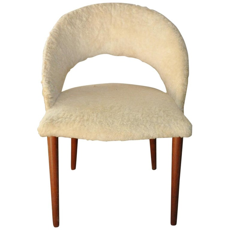 Vanity Chair by Frode Holm, Denmark, 1950s
