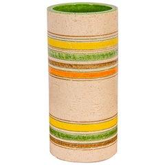Rosenthal Netter Striped Italian Vase for Bitossi