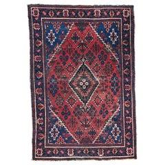 Vintage Persian Joshaghan Rug