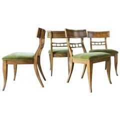 Klismos Chairs, Set of 4