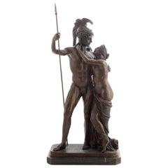 Ares and Aphrodite Bronze after Antonio Canova