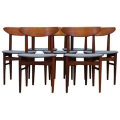 Chairs Scandinavian Design Classic Teak Retro