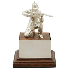 Sterling Silver 'Soldier' Presentation Trophy