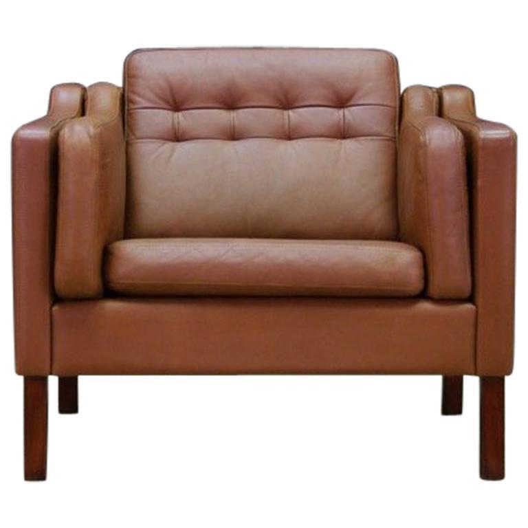 Lieblich Sessel Leder Vintage Skandinavisches Design 1