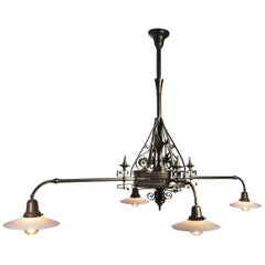 Large Playful Eastlake Chandelier