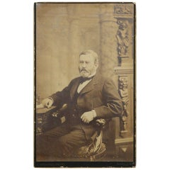 Ulysses S. Grant, Large Albumen Photograph on Card by Abraham Bogardus