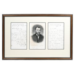 Ulysses S. Grant, Autograph Letter Signed Mentioning Gettysburg
