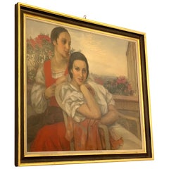 Painting by Anselmo Miguel Nieto, ARR